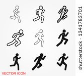 running icon vector sign symbol ...