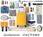 travel concept with a large... | Shutterstock . vector #1341791804