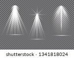 vector spotlight. light effect... | Shutterstock .eps vector #1341818024