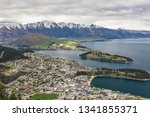 panoramic view  the remarkables ... | Shutterstock . vector #1341855371