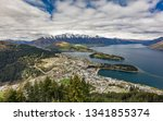 panoramic view  the remarkables ... | Shutterstock . vector #1341855374