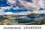 panoramic view  the remarkables ... | Shutterstock . vector #1341855554