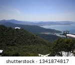 beautiful views from the top of ... | Shutterstock . vector #1341874817