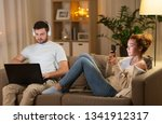 leisure  technology and people... | Shutterstock . vector #1341912317