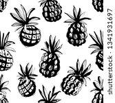 vector illustration tropical...   Shutterstock .eps vector #1341931697