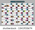 mega collection of 72 abstract... | Shutterstock .eps vector #1341933674