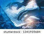 digital software development ... | Shutterstock . vector #1341935684