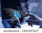 5g high speed internet network... | Shutterstock . vector #1341947627