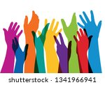 concept of membership with a... | Shutterstock .eps vector #1341966941