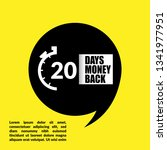 20 days money back sign  ...