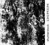 distressed black overlay... | Shutterstock .eps vector #1341993194