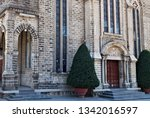 gothic revival style christ the ... | Shutterstock . vector #1342016597