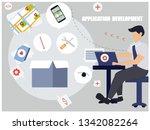 software  web development ... | Shutterstock .eps vector #1342082264