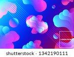 minimal geometric abstract... | Shutterstock .eps vector #1342190111