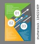 brochure design | Shutterstock .eps vector #134221409