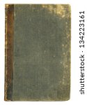 Blank Old Book Cover  Isolated.