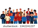 young people cartoon | Shutterstock .eps vector #1342241237