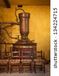 Small photo of Old alembic to distill wine