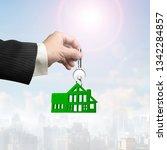 buying or renting green energy... | Shutterstock . vector #1342284857