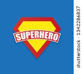 super hero power graphics ... | Shutterstock .eps vector #1342286837