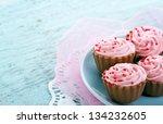 Pink Chocolate Cupcake Praline...