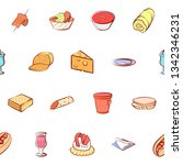 food images. background for... | Shutterstock .eps vector #1342346231