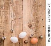 closeup on fresh chicken and...   Shutterstock . vector #1342453424