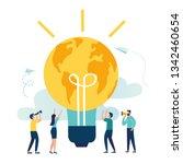 vector creative illustration of ... | Shutterstock .eps vector #1342460654