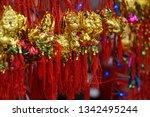 beautiful festive background....   Shutterstock . vector #1342495244