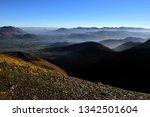 morning mist below the fells | Shutterstock . vector #1342501604