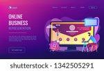 web developer working on... | Shutterstock .eps vector #1342505291