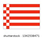 flag of the german state of... | Shutterstock .eps vector #1342538471