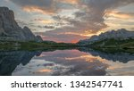 light and sky reflected in...   Shutterstock . vector #1342547741