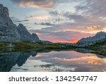 vivid reflections of morning...   Shutterstock . vector #1342547747