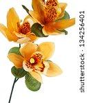 Orange Artifical Flowers...