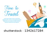 World Tour Color Vector Banner...