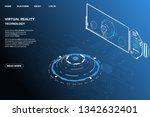 ui futuristic isometric 3d...