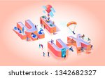 vector illustration ux... | Shutterstock .eps vector #1342682327