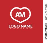 letter am logo concept....