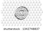 anticipate grey badge with...   Shutterstock .eps vector #1342748837