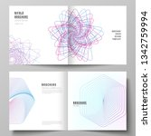 vector layout of two covers...   Shutterstock .eps vector #1342759994
