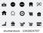 sale icons set | Shutterstock .eps vector #1342824707