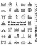 Set Of 36 International...