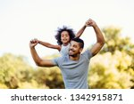 portrait of young father...   Shutterstock . vector #1342915871
