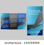brochure design   Shutterstock .eps vector #134294969