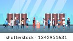 election day concept different... | Shutterstock .eps vector #1342951631