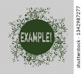 writing note showing example.... | Shutterstock . vector #1342987277