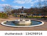 London   Apr 5   Fountain At...