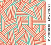 abstract pattern of colored... | Shutterstock .eps vector #1342998797