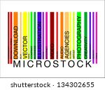 microstock  word concept in...